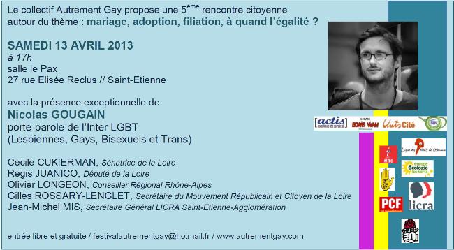 Rencontre gay saint etienne que penser des sites de rencontres rencontres femmes wannonce