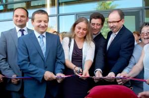 inauguration médiathèque SGL