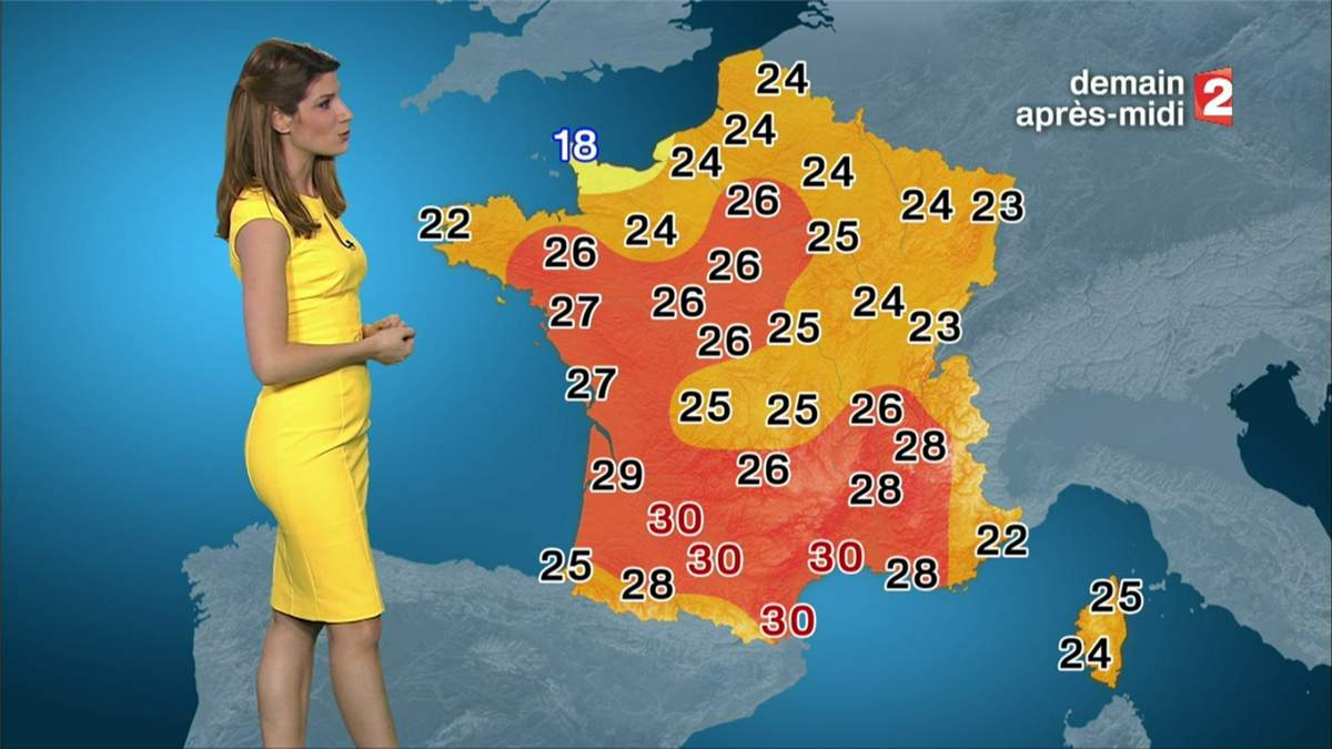 Présence de Saint-Etienne sur les cartes météos : le refus incompréhensible de la PDG de France Télévisions, Delphine Ernotte !