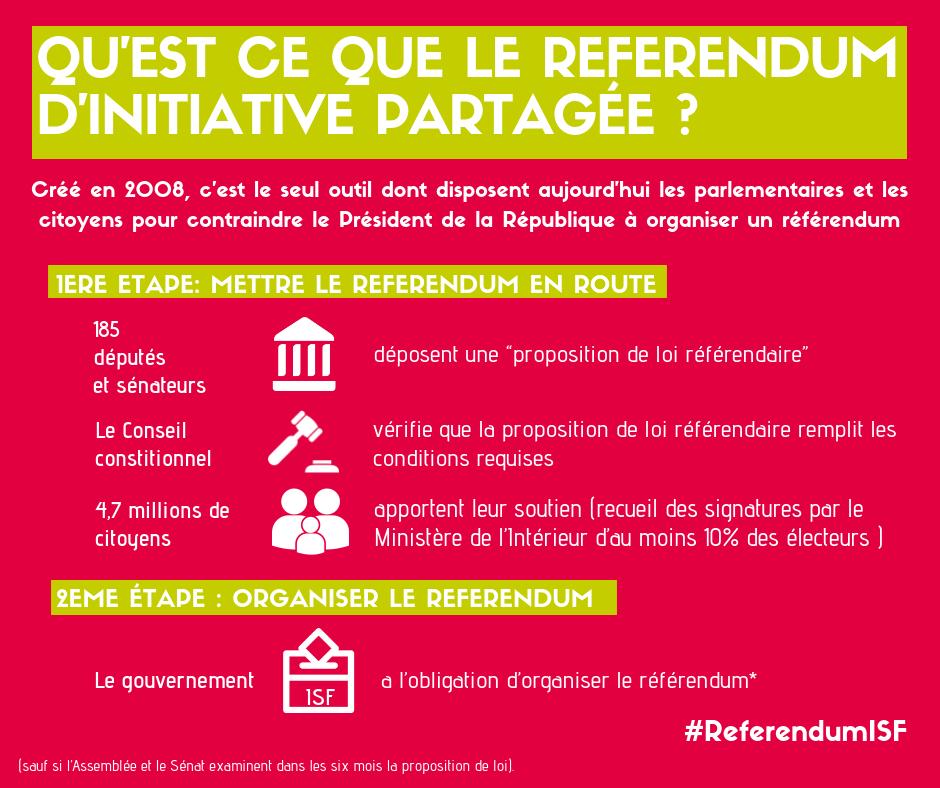 Un référendum d'initiative partagée pour rétablir l'ISF