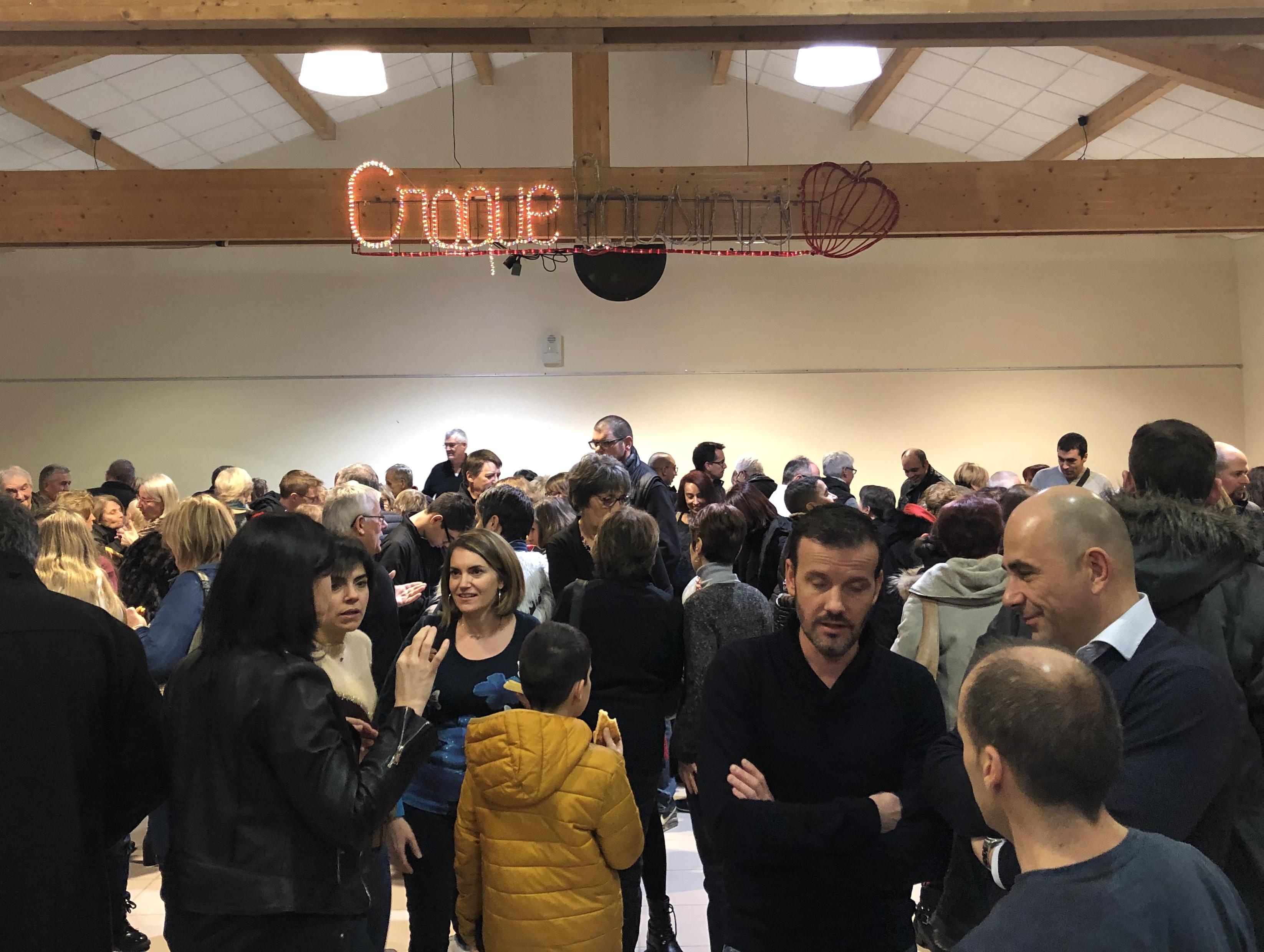 Cérémonie des vœux de « Croque loisirs » à Saint-Victor-sur-Loire