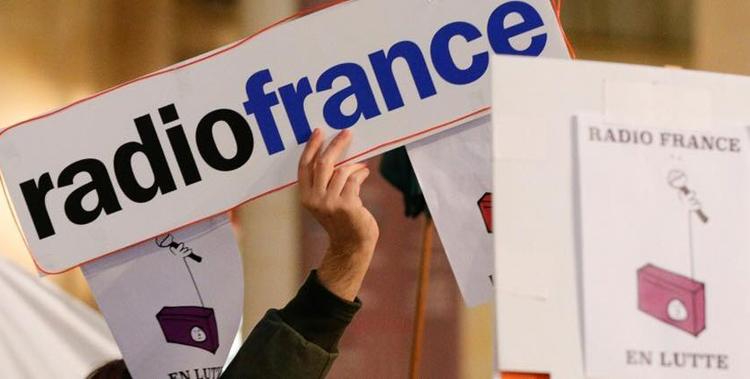 Soutien aux salariés de Radio France en grève depuis trois semaines