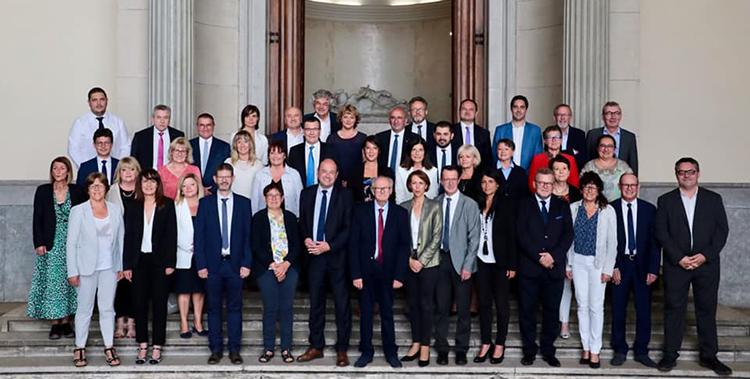 Séance d'installation du Conseil Départemental de la Loire