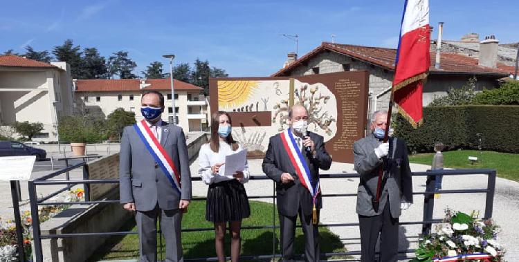 Cérémonies du 8 mai 1945 dans les communes de la 1ère circonscription de la Loire