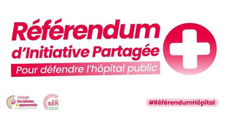 Un Référendum d'Initiative Partagée (RIP) pour défendre l'hôpital public !
