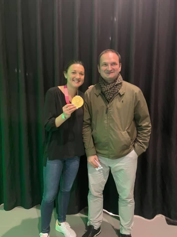 Soirée du Handball St-Etienne Métropole 42 avec Blandine Dancette, championne olympique à Tokyo